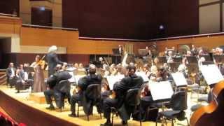 Esra Pehlivanli plays K. Penderecki Viola Concerto (part 2)