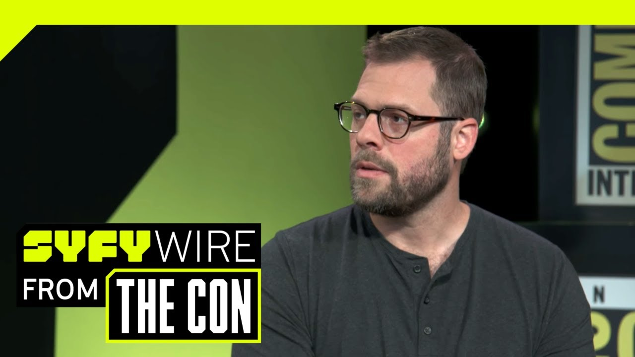 Rampage's Ryan Condal On Conan TV Show & Analog Film | SDCC 2018 | SYFY WIRE