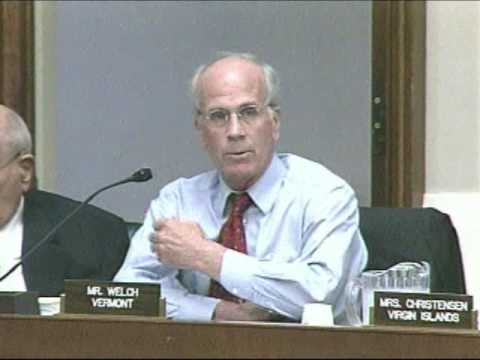Rep. Peter Welch delivers opening statement at Gulf spill hearing
