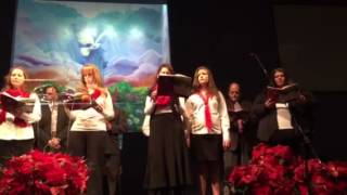 Christmas program at New Hope Baptist part1