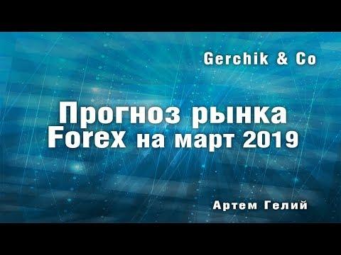 Прогноз форекс на март 2019