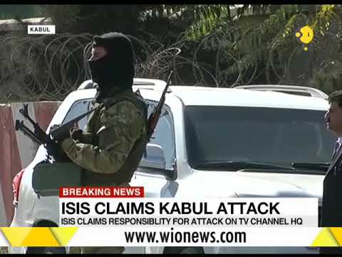Breaking News: ISIS claims responsibility of attack on Kabul TV station