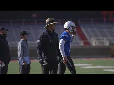 Coach Kingsbury Mic'd Up - Spring 2018