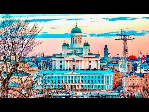 A Walk Around the Beautiful City of Helsinki, Finland