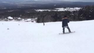 初めてのスノーボード Second 大山桝水高原スキー場