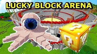 OKO OŚMIORNICE BOSS VS LUCKYBLOCK- Tritsus & Koshi LUCKY BLOCK ARENA