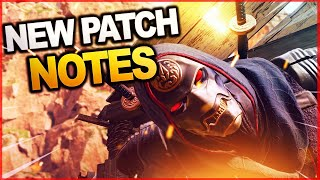 NEW EVENT PATCH NOTES, Revenant Buff Nerf, Skull Town Return, Weapon Balances and MORE!!
