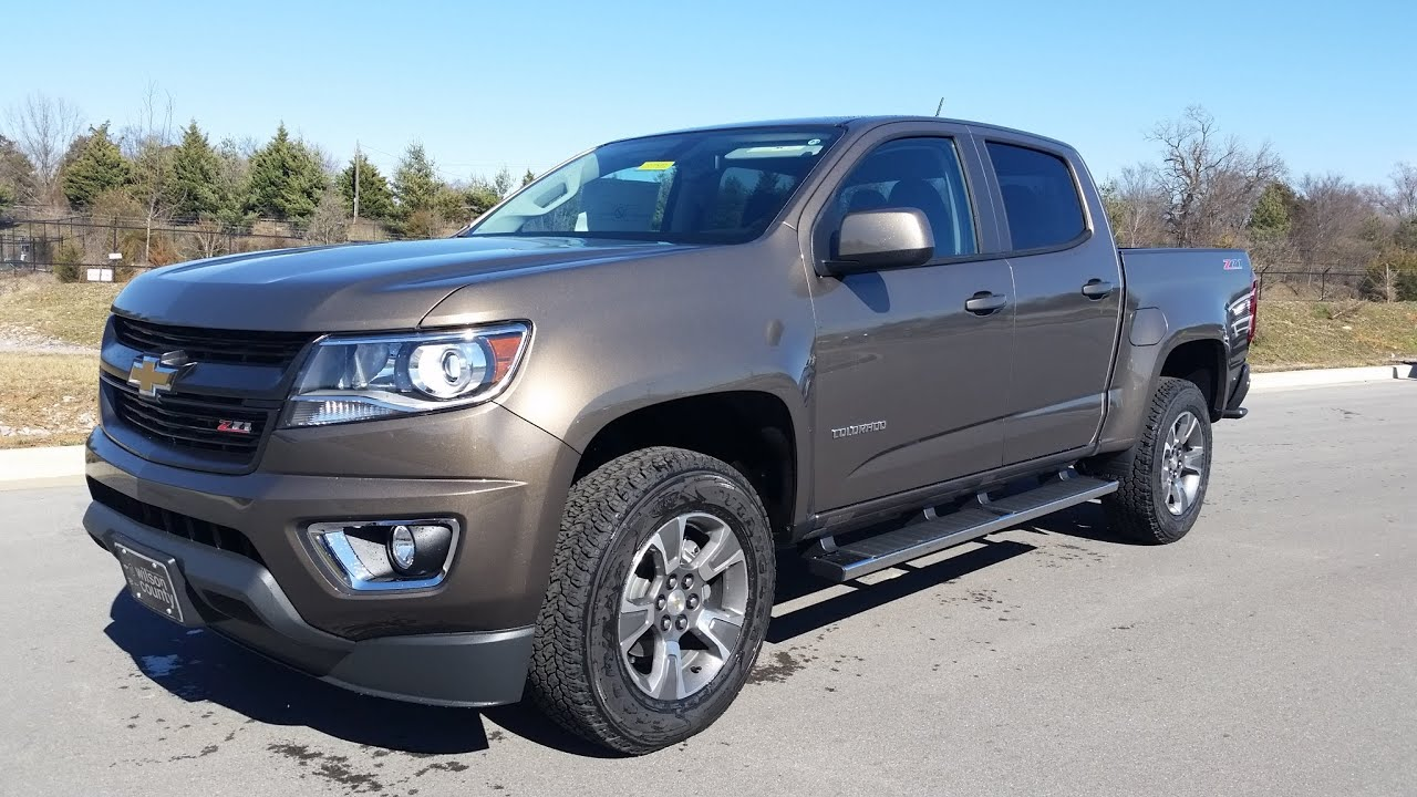 chevrolet colorado z71 crew cab