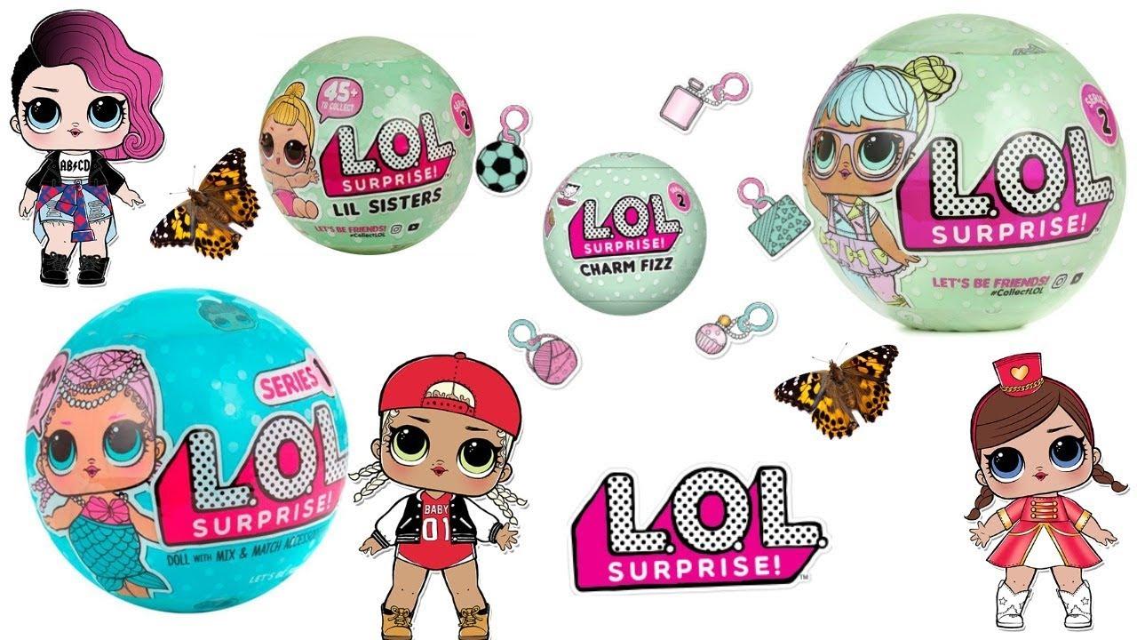 4 Tipuri De Lol Dolls Papusi Lol