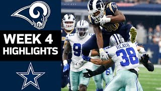 Rams vs. Cowboys | NFL Week 4 Game Highlights thumbnail