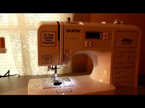 How To Thread The Bobbin On The Project Runway Limited Edition Magnificent Brother Project Runway Sewing Machine Ce1100prw