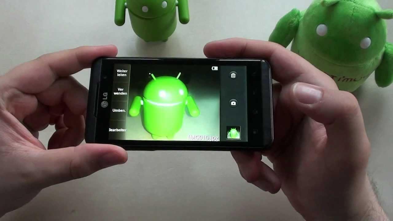 LG P920 OPTIMUS 3D Testbericht komplett