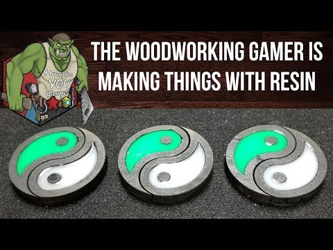 How to make SUPER FUN things with Epoxy Resin that GLOW IN THE DARK