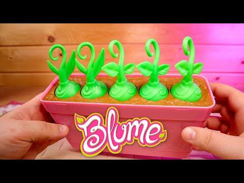 Цветочный Горшок с куклами сюприз Blume Baby Pop или Крошки Горошки Здорового человека Грядка Блюм