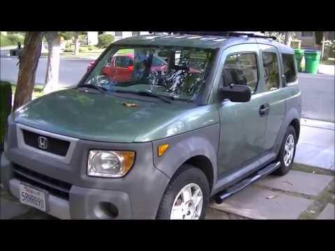 Honda Element Micro RV. 9 DIY $50 Roof Rack, $100 Running Boards, $60 Cargo  Rack