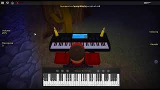 Lemon Tree - Dish of the Day by: Fool's Garden on a ROBLOX piano.