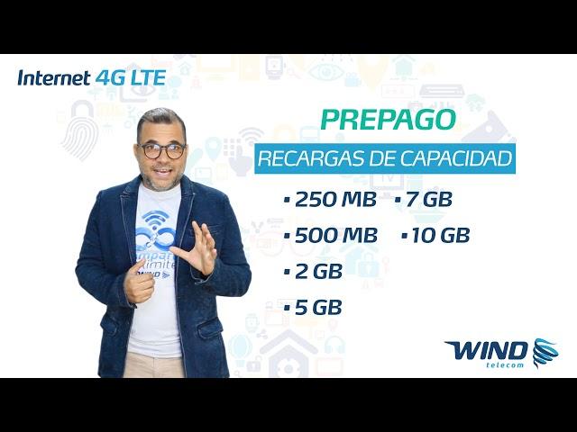 Internet Prepago Wind Telecom