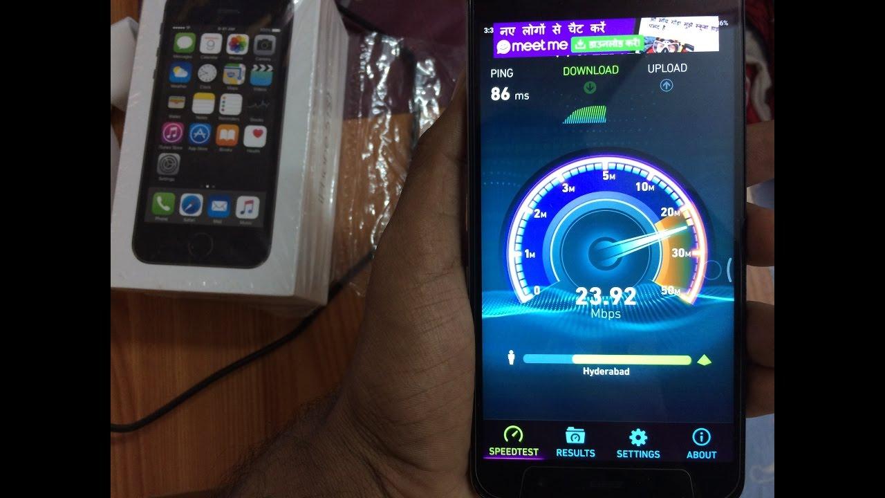 reliance jio vs act fibernet 10mbps speedtest hyderabad youtube