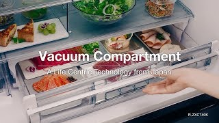 Hitachi - Vacuum Compartment Technology, Made in Japan Model
