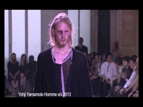 Yohji Yamamoto Homme Spring Summer 2013 Full Fashion Show