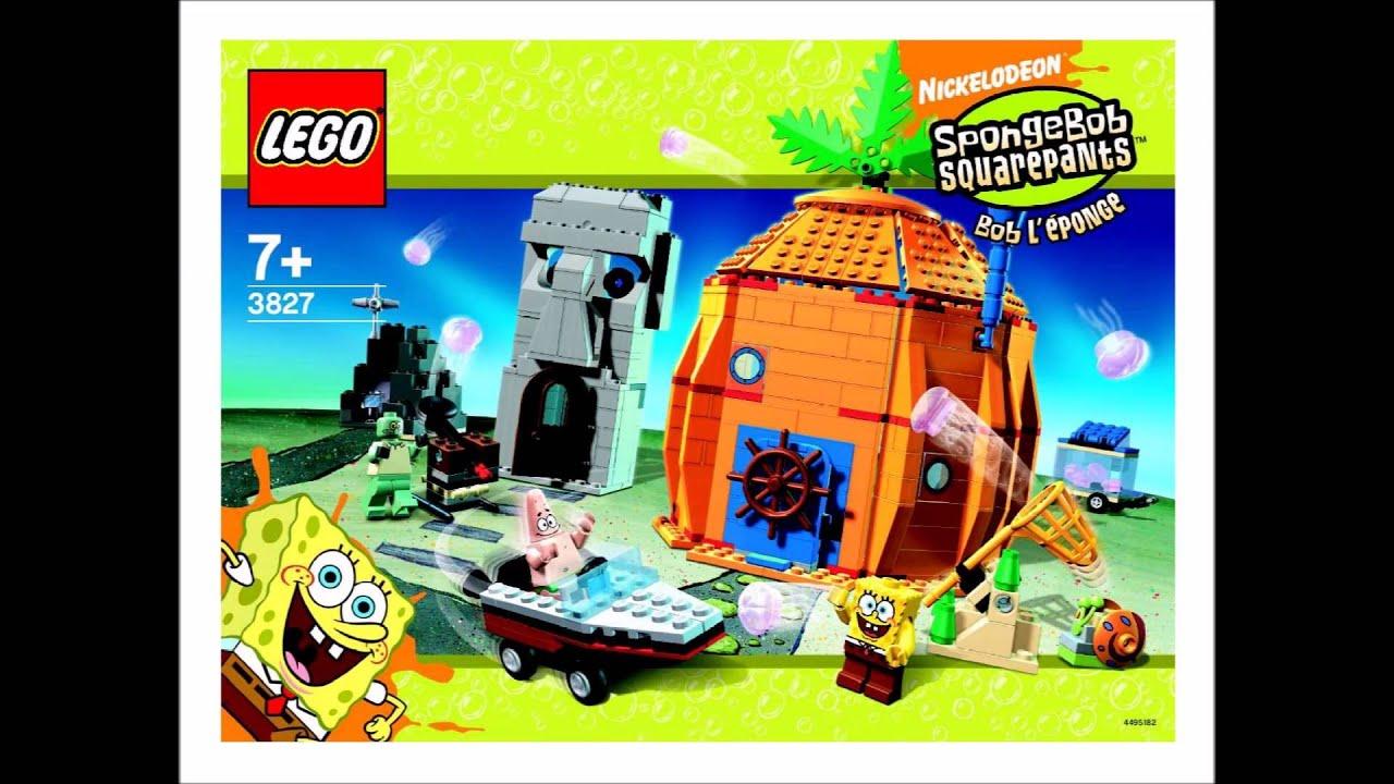 Lego Spongebob Adventures At Bikini Bottom Bad Neighbors 3827 Diy