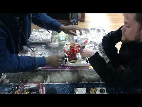 Heroclix Omaha Wizkids Open Top 4 - Winter 2018 - 300 Modern - Zach Pogany vs Edward Shelton