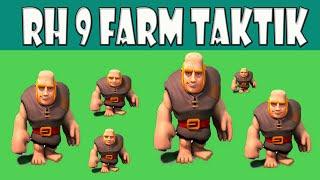 Coole RH9 Farm Taktik ||| Top Tutorial mit Riesen & Heiler ||| Let´s Play Clash of Clans