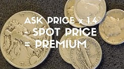 Calculating Junk Silver Premiums - A Beginner Tip!