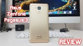 Asus Zenfone Pegasus 3 REVIEW - An awesome looking phone!