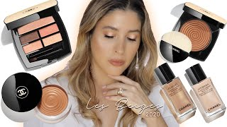 CHANEL LES BEIGES 2020 FULL COLLECTION Summer Makeup Look NEW Soleil Tan vs Original Review Swatches