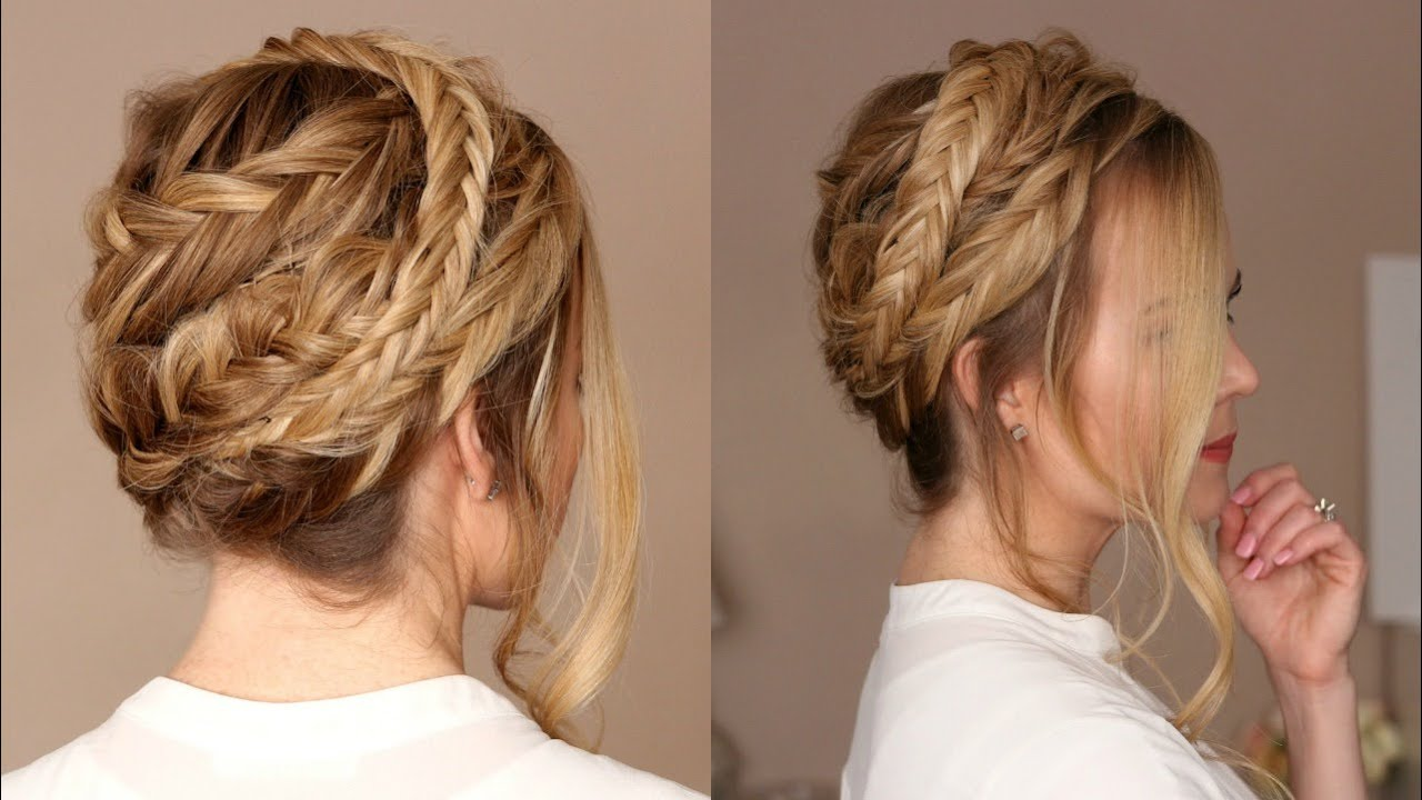 Double Fishtail Crown Braid Missy SueYouTube