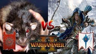 Skaven vs High Elves | SHADOW WALKERS - Total War Warhammer 2