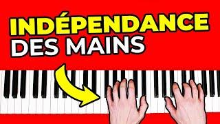 Comment travailler efficacement son indépendance des main au piano