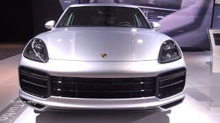 2019 Porcshe Cayenne Turbo - Exterior And Interior Walkaround - LA Auto Show 2017