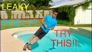 Chasing pool leaks, Don't call a leak detection company until you watch this