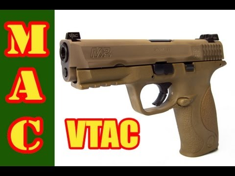 Smith & Wesson M&P VTAC 9mm Review