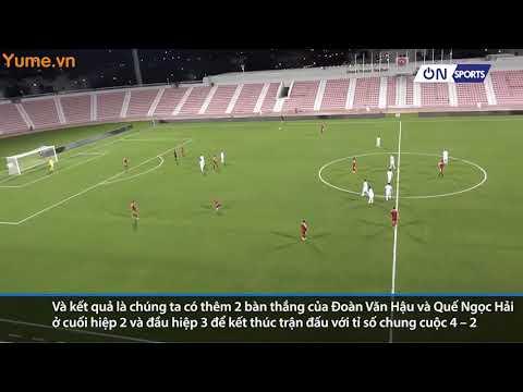 Highlight giao hữu Việt Nam vs Philippin: Màn phối hợp đẳng cấp của ĐT Việt Nam với 7 đường chuyền