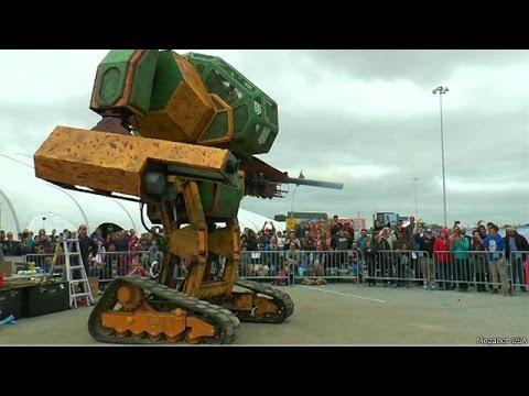 Batalha De Robos Gigantes Eua X Japao Youtube