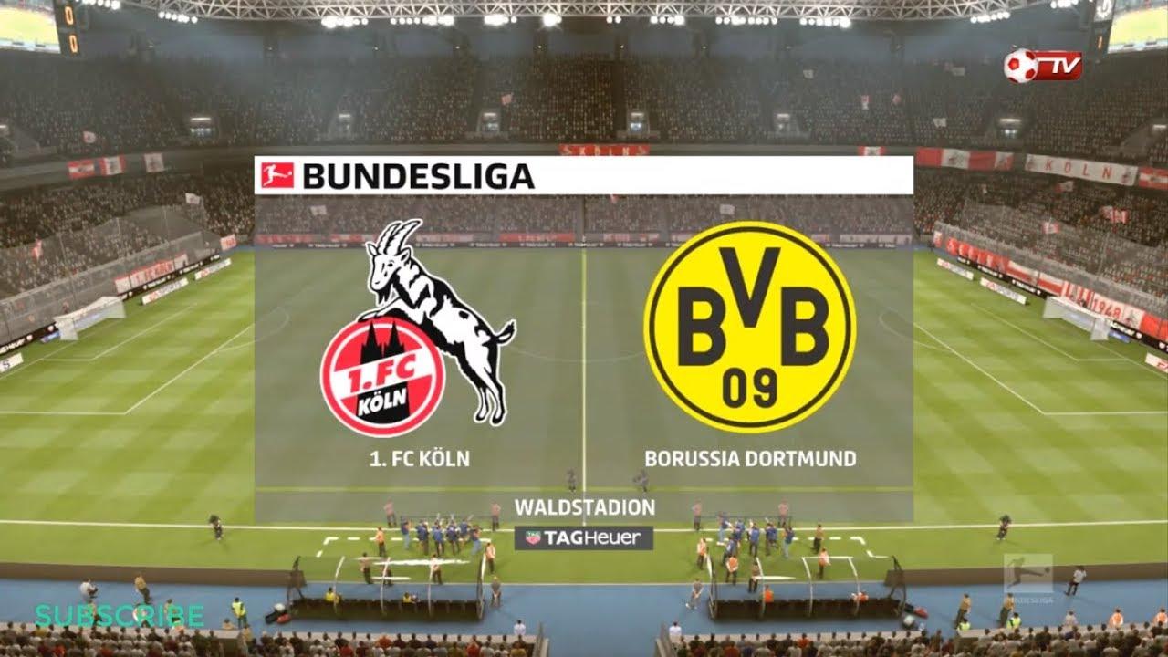 FC Köln vs Borussia Dortmund Vòng 2 Giải Quốc Gia Đức Bundesliga 2019/2020 FIFA19