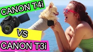 Canon t3i vs t4i comparison video review + autofocus(Canon t3i vs t4i comparison video review. Interested in getting the new canon t4i/650D or seeing what the rebel t3i/600D and t4i video difference is, then this ..., 2012-08-21T17:59:21.000Z)