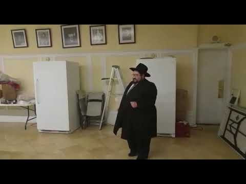 Rabbi Mendel feller about the Rebbe's visit to machon chana Pesach Seder