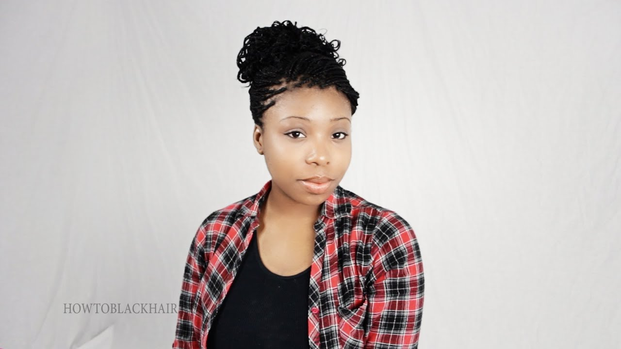3 Micro Braid Hairstyles For African American Hair Zillion