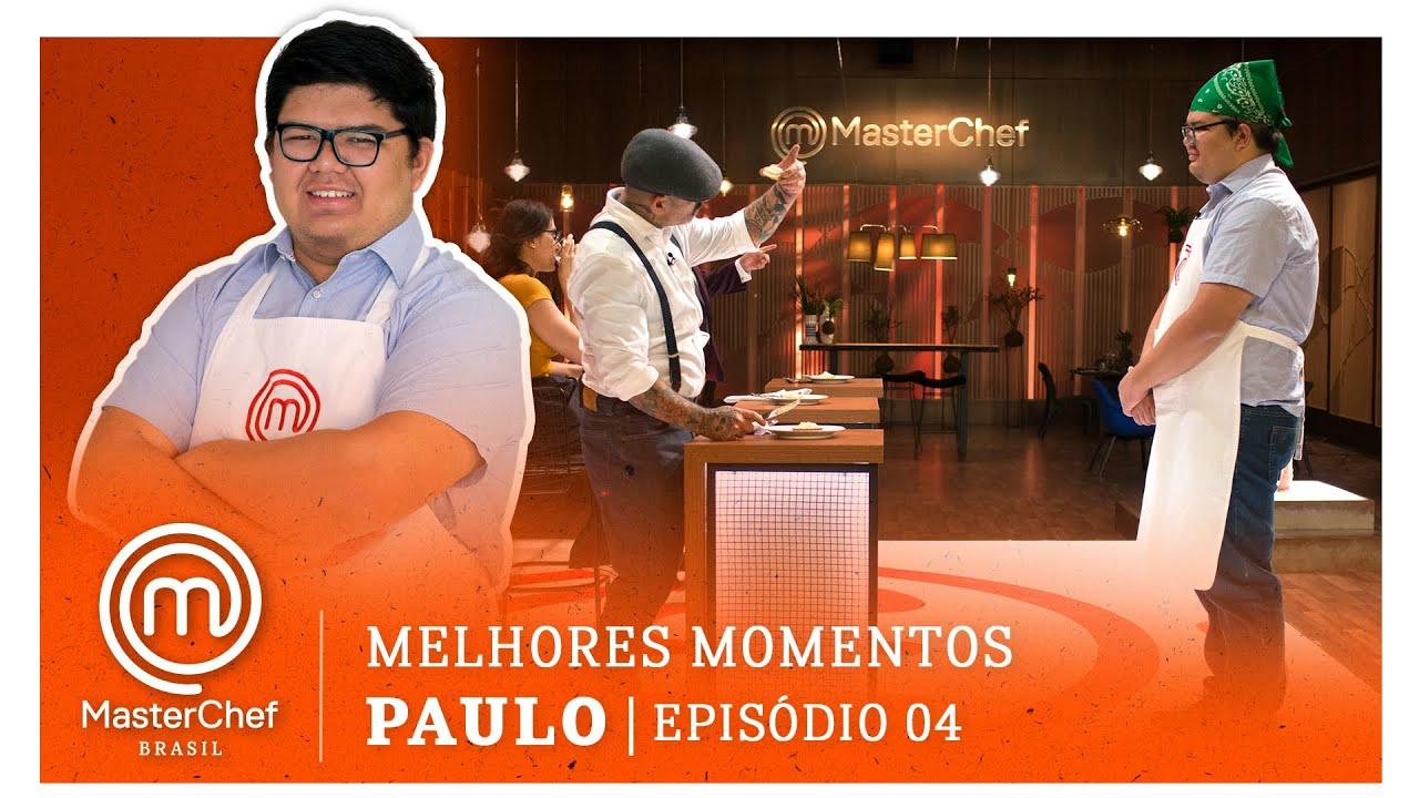 MELHORES MOMENTOS com Paulo Shibata   MASTERCHEF BRASIL   EP 04   TEMP 07