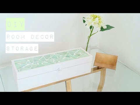 DIY Jewelry Storage Box