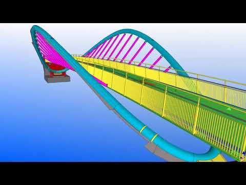 Tekla UK BIM Awards 2012: St Helens footbridge