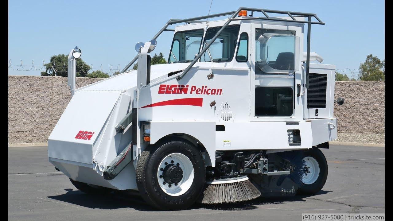 2006 elgin pelican mechanical broom street sweeper youtube rh youtube com Elgin Street Sweepers Elgin Sweeper Brooms
