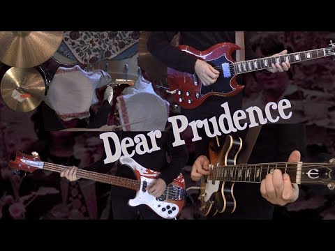 Dear Prudence  Guitar, Bass, Drums and Piano  Instrumental