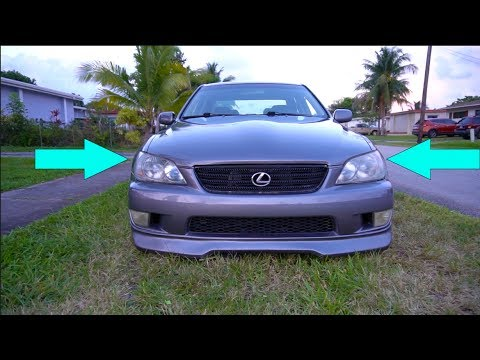 LEXUS IS300 FRONT END GETS NEW LOOK!!! - #PROJECT300