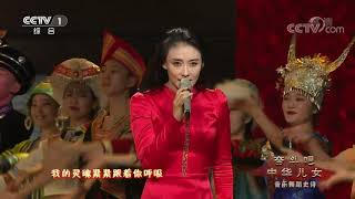 [奋斗吧中华儿女]《天耀中华》 演唱:徐千雅 张杰 领舞:邰丽华 吴宇婷 等 手语指挥:王晶| CCTV