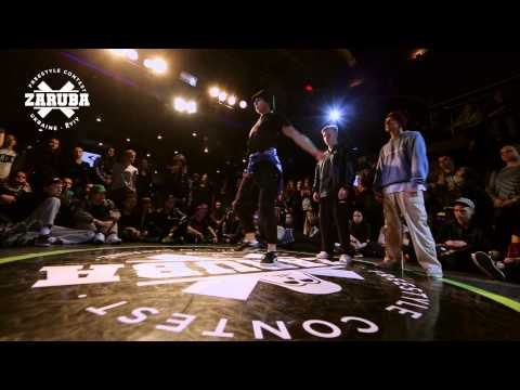 Hip-hop 3vs3 1/4F Explosion Team(Win) vs...